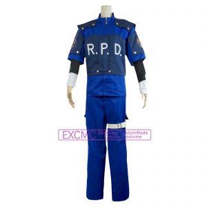 バイオハザード2 レオン・S・ケネディ 警官 風 コスプレ衣装