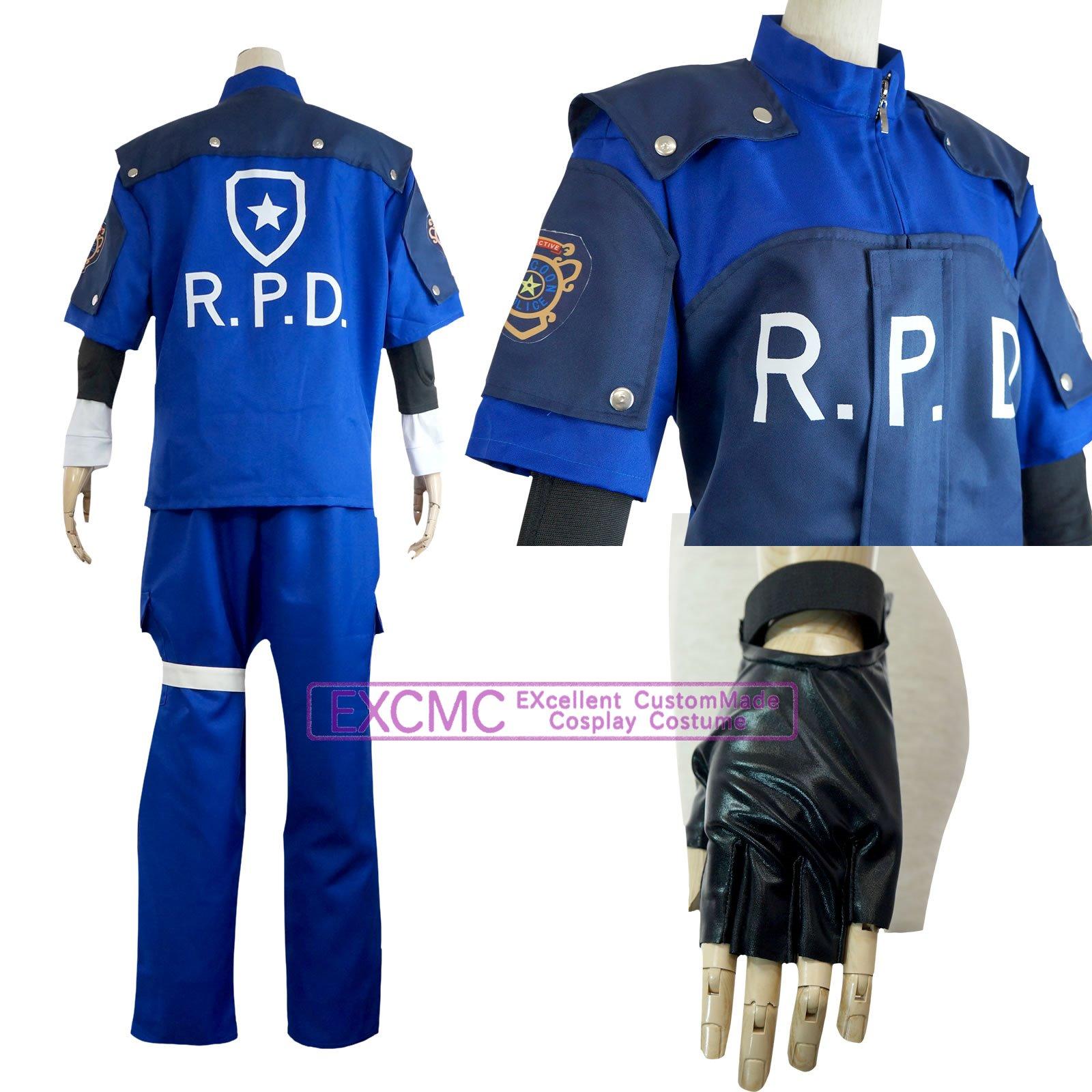 バイオハザード2 レオン・S・ケネディ 警官 風 コスプレ衣装2