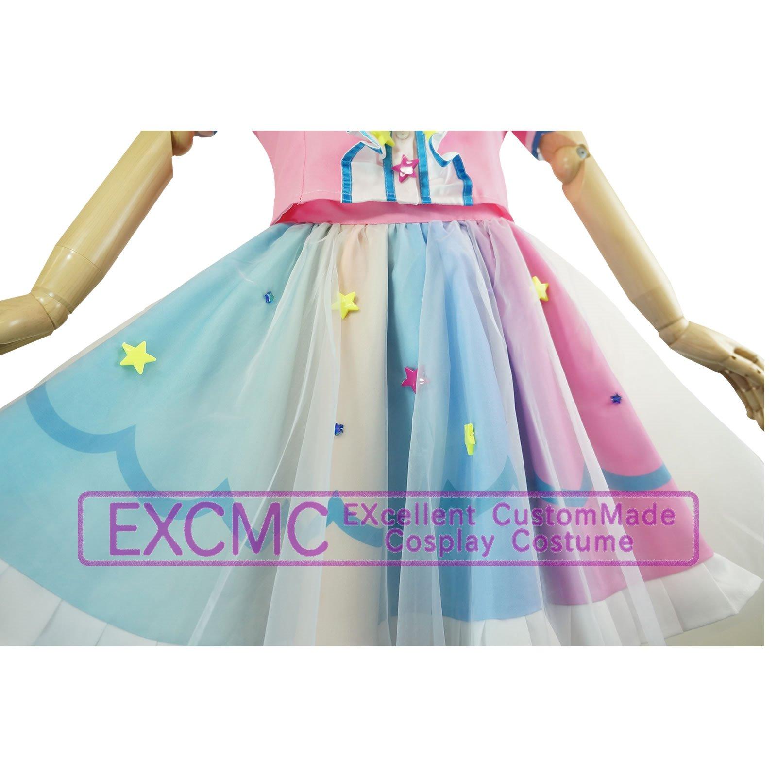 アイドルタイムプリパラ 夢川ゆい ファンタジータイムサイリウムコーデ 風 コスプレ衣装6
