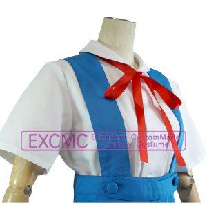 新世紀エヴァンゲリオン 綾波レイ 制服 風 コスプレ衣装(11着)3