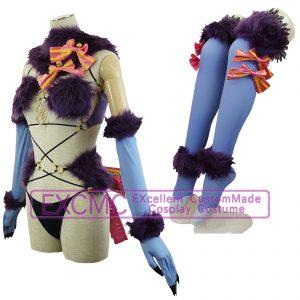 Fate Grand Order マシュ・キリエライト 概念礼装(デンジャラス・ビースト) 風 コスプレ衣装3