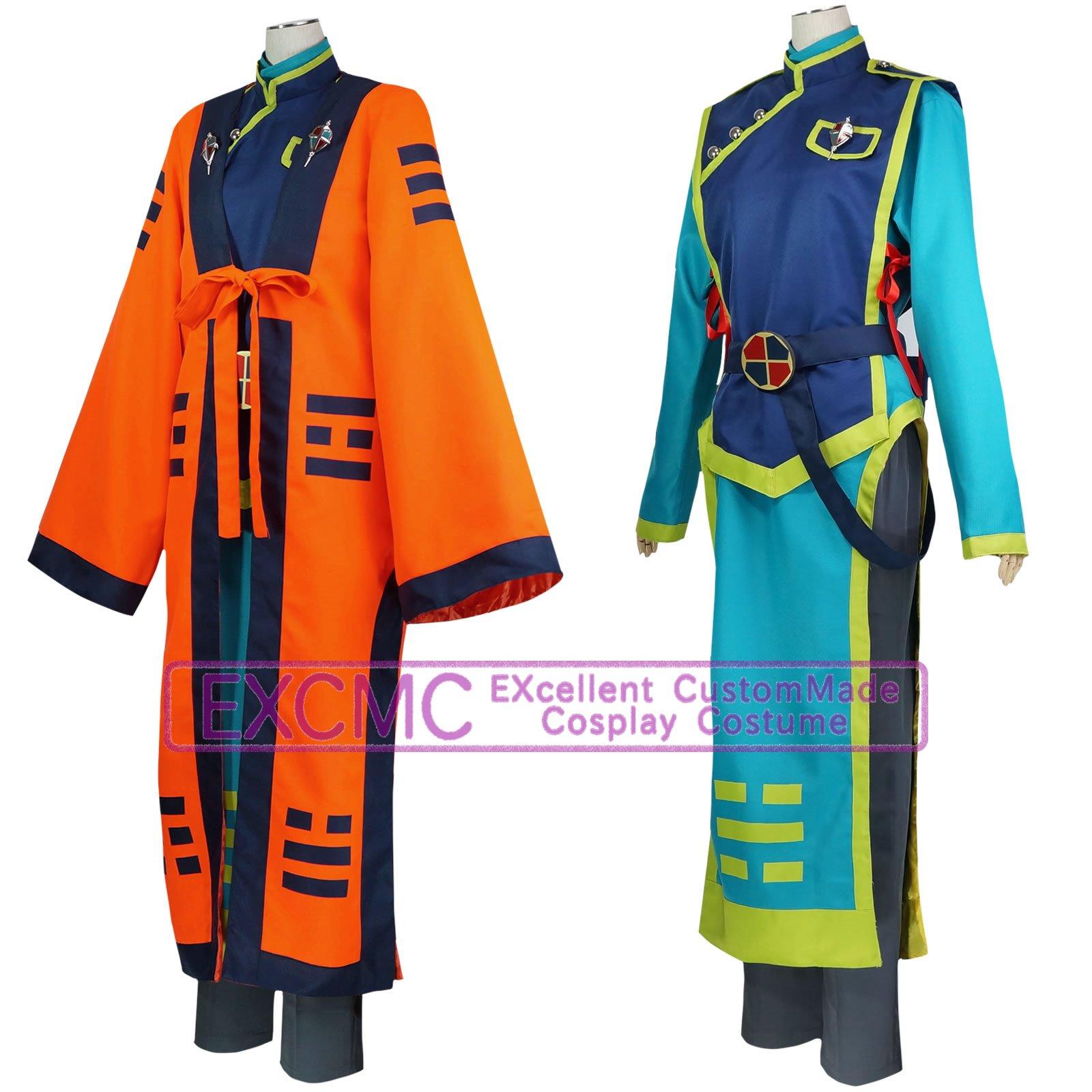 青の祓魔師 劉成龍 風 コスプレ衣装4