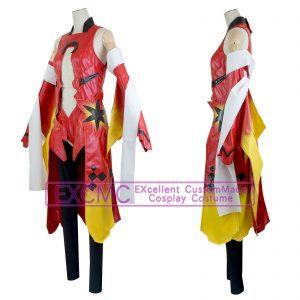 ギルティクラウン 楪いのり 金魚服 風 コスプレ衣装1
