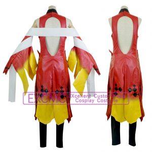 ギルティクラウン 楪いのり 金魚服 風 コスプレ衣装2