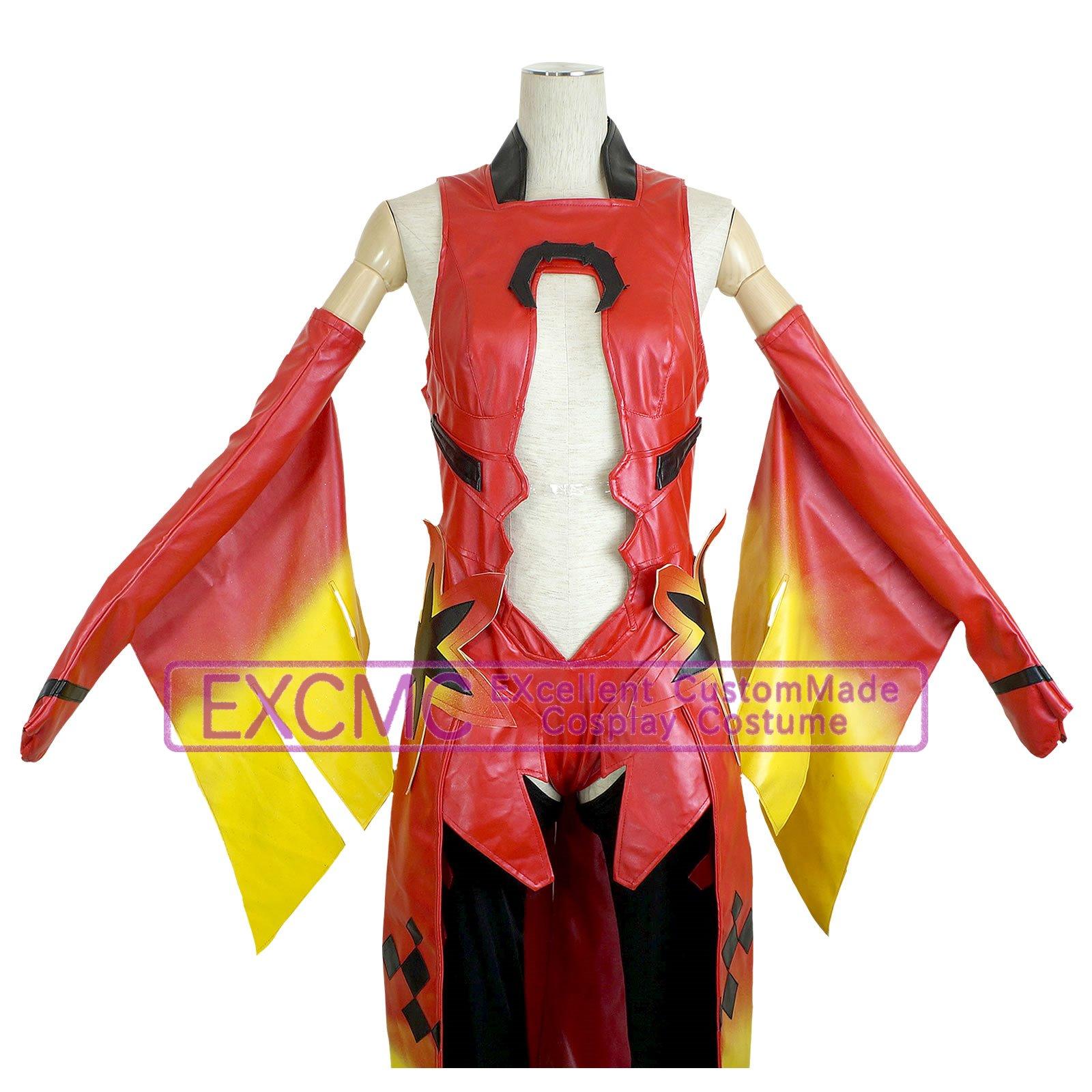 ギルティクラウン 楪いのり 金魚服 風 コスプレ衣装4