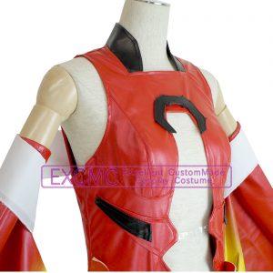 ギルティクラウン 楪いのり 金魚服 風 コスプレ衣装5