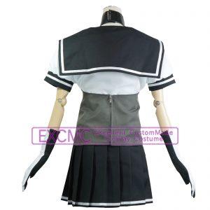艦隊これくしょん 照月 風 コスプレ衣装2