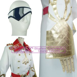 革命機ヴァルヴレイヴ_カイン・ドレッセル 風 コスプレ衣装3