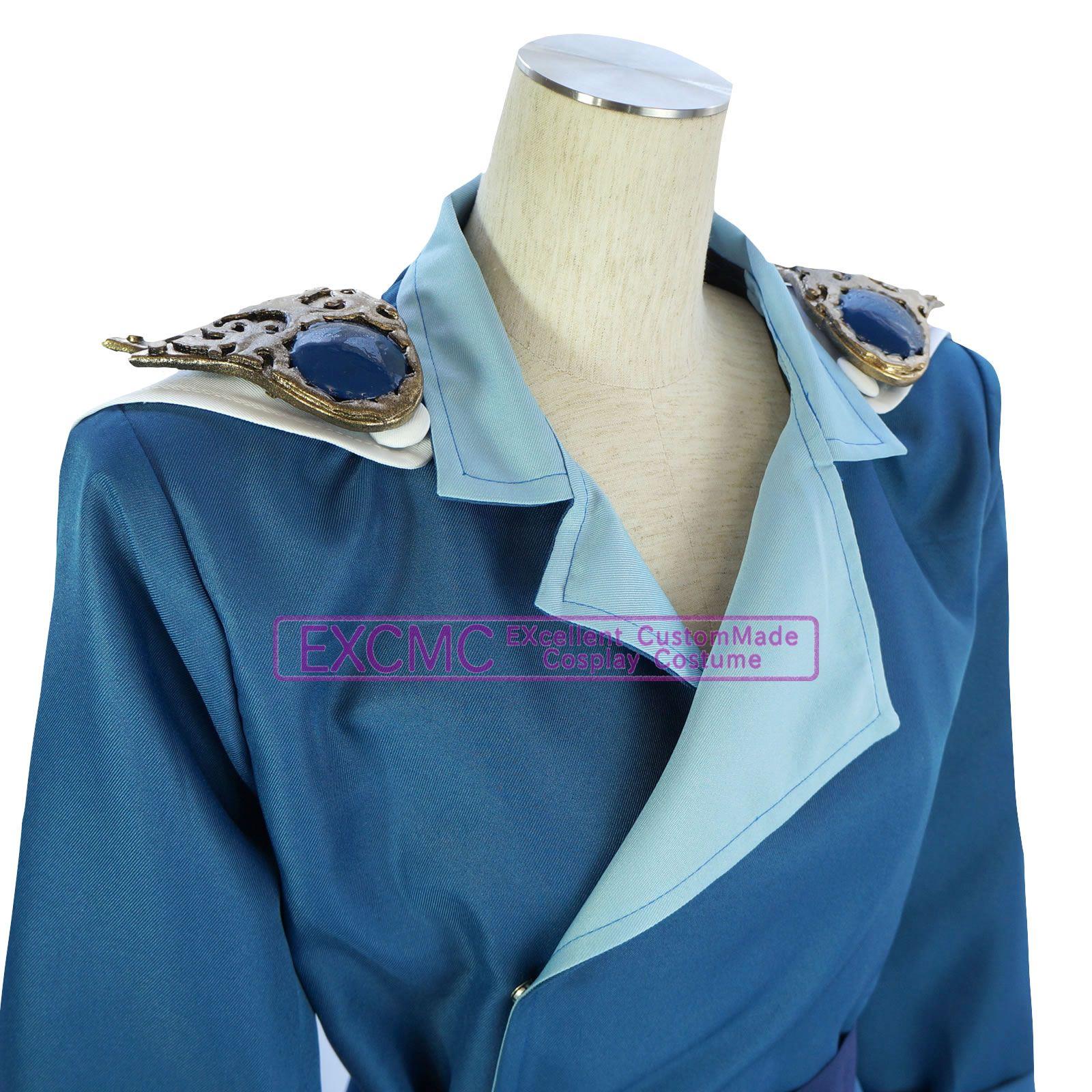 美少女戦士セーラームーン(旧アニメ版) クンツァイト 風 コスプレ衣装3
