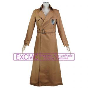 進撃の巨人 調査兵団ロングコート 風 コスプレ衣装
