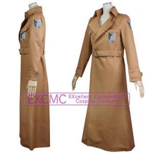 進撃の巨人 調査兵団ロングコート 風 コスプレ衣装1