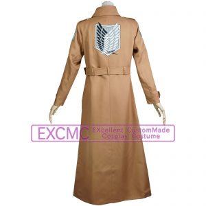 進撃の巨人 調査兵団ロングコート 風 コスプレ衣装2