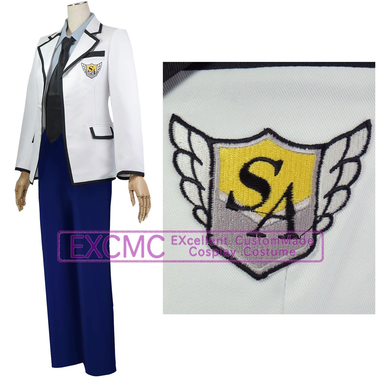S・A(スペシャル・エー) 白選館高校 男子制服 風 コスプレ衣装3