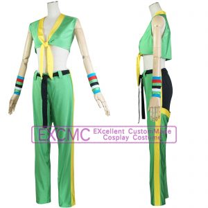 ストリートファイター5 ララ 風 コスプレ衣装1