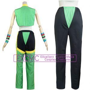 ストリートファイター5 ララ 風 コスプレ衣装2