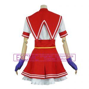 ザ・キング・オブ・ファイターズ14 麻宮アテナ 制服 風 コスプレ衣装2
