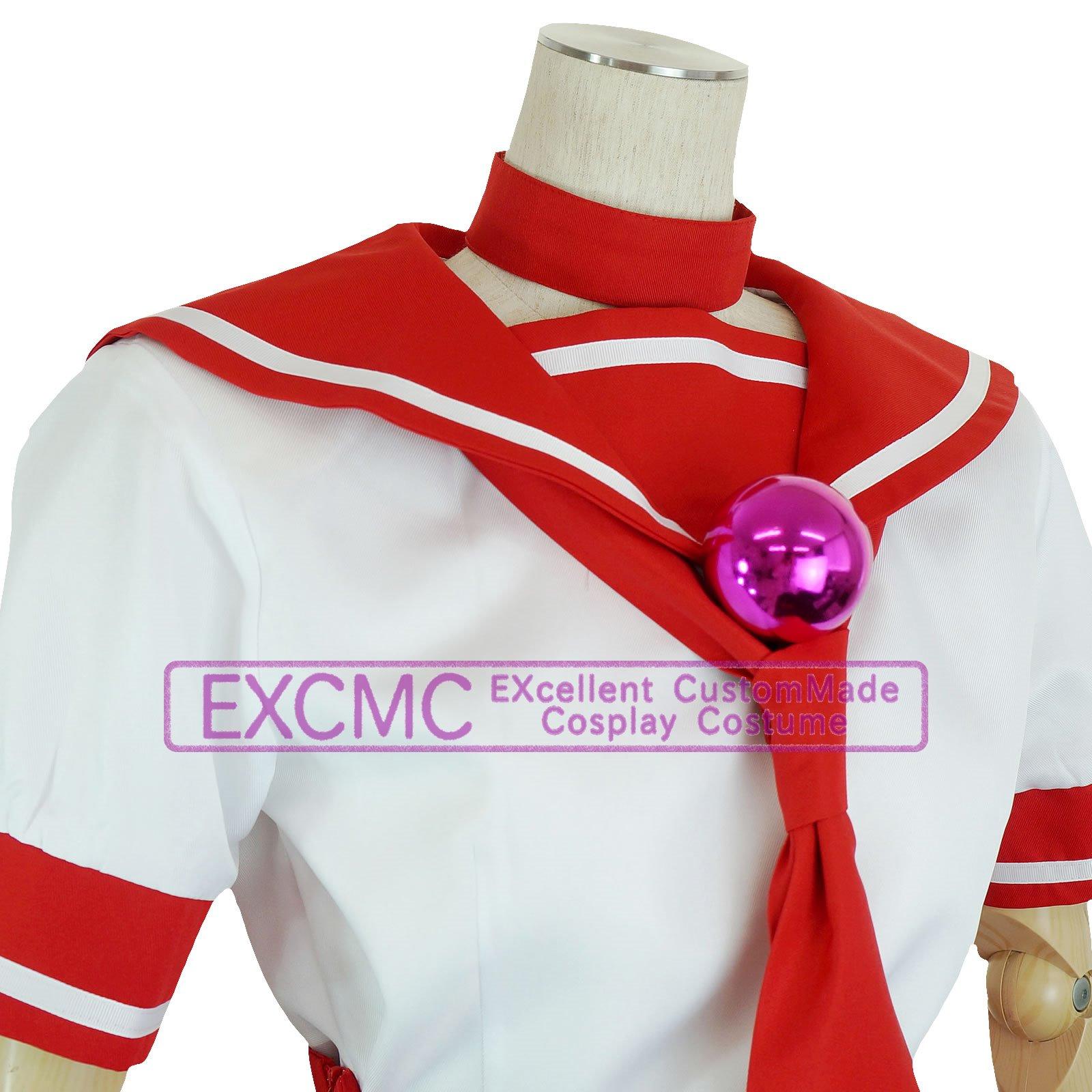 ザ・キング・オブ・ファイターズ14 麻宮アテナ 制服 風 コスプレ衣装4