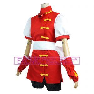 ザ・キング・オブ・ファイターズ98 麻宮アテナ 風 コスプレ衣装4