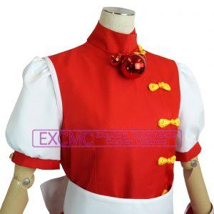 ザ・キング・オブ・ファイターズ98 麻宮アテナ 風 コスプレ衣装5