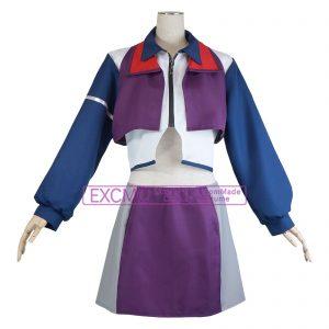 マクロスΔ(デルタ) カナメ・バッカニア ケイオス 制服 風 コスプレ衣装