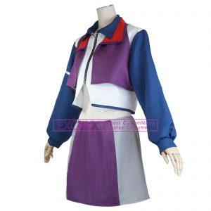 マクロスΔ(デルタ) カナメ・バッカニア ケイオス 制服 風 コスプレ衣装3