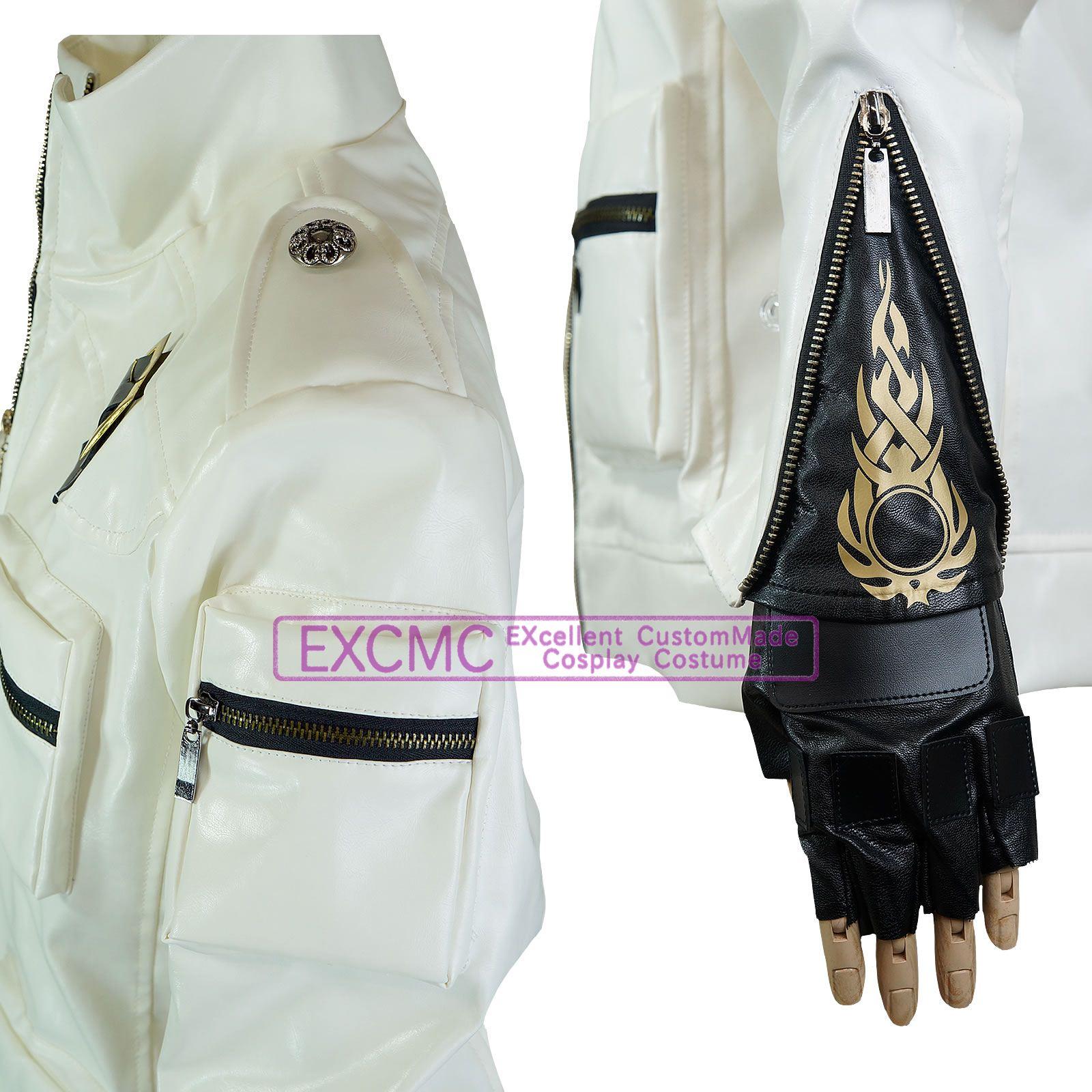 ザ・キング・オブ・ファイターズ14 草薙京 風 コスプレ衣装3