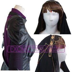fate grand order スカサハ 第3段階 風 コスプレ衣装12
