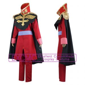 機動戦士ガンダム デギン・ソド・ザビ 制服 風 コスプレ衣装1