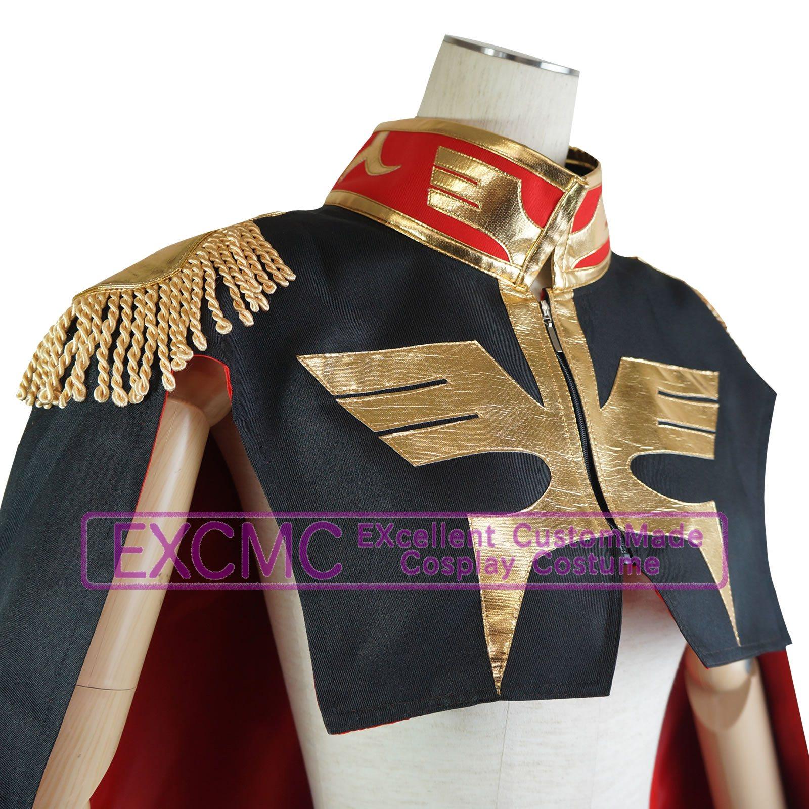 機動戦士ガンダム ランバ・ラル 風 コスプレ衣装3