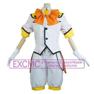 美男高校地球防衛部LOVE! 鳴子硫黄(なるこいお) バトラヴァ・サルファー 風 コスプレ衣装