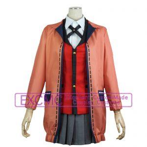 賭ケグルイ 黄泉月るな(よもづきるな) 百花王学園 女子制服 風 コスプレ衣装1