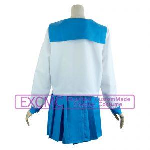 ポプテピピック 女子制服 風 コスプレ衣装(2着-ポプ子・ピピ美)2