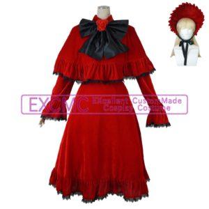 ローゼンメイデン 真紅風 コスプレ衣装