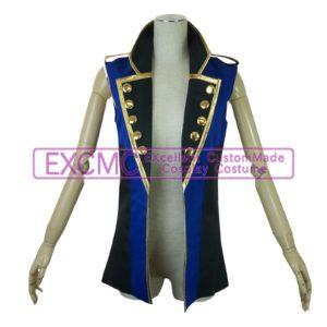 オリジナル バンド用(青ノースリーブジャケット)衣装