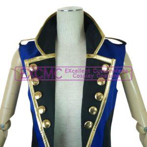 オリジナル バンド用(青ノースリーブジャケット)衣装4