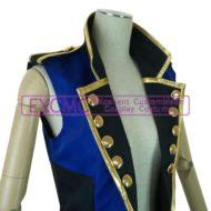 オリジナル バンド用(青ノースリーブジャケット)衣装5