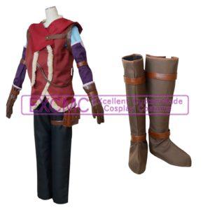 ノーゲームノーライフゼロ リク 風 コスプレ衣装3