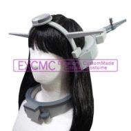 艦隊これくしょん 長門改二 艦橋型髪飾り 風 コスプレ用アイテム_2