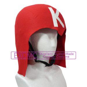 放課後電磁波クラブ 青 赤 ヘルメット 風 コスプレ用アイテム