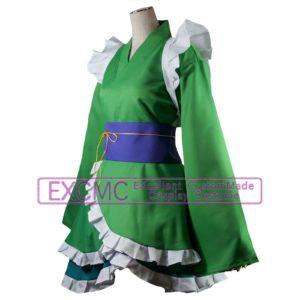 東方Project わかさぎ姫 風 コスプレ衣装 ひれ 耳 コスプレ用アイテム