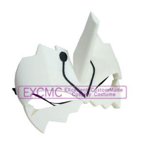 うたわれるものふたりの白皇 ハク 仮面(アクルカ) 風 コスプレ用アイテム